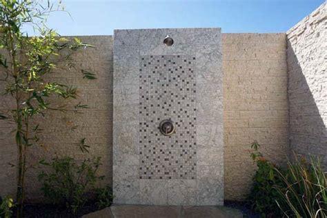 Rock Wall Detox by Top 60 Best Outdoor Shower Ideas Enclosure Designs