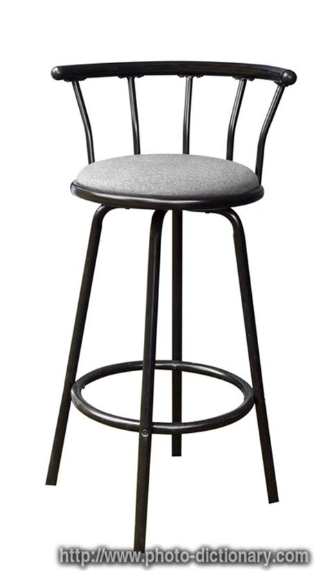 Stools Definition by Bar Stool Photo Picture Definition At Photo Dictionary