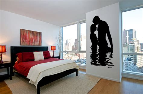 art for bedroom walls creative silhouette bedroom wall art ideas orchidlagoon com