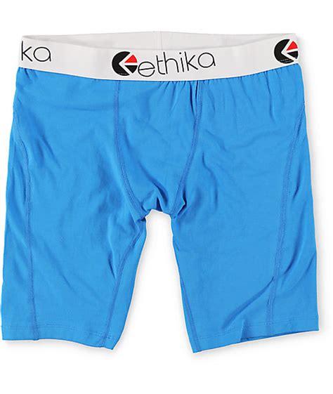 Ethika Staple Boxer Original Celana Boxer 9 ethika the staple blue boxer briefs zumiez