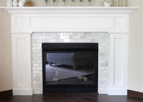 tiling around a fireplace 25 best ideas about tile around fireplace on