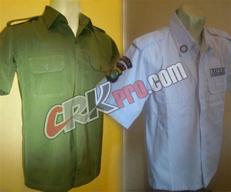 Pakaian Dinas Upacara pakaian dinas satpam baju pdh security polisi tni abri