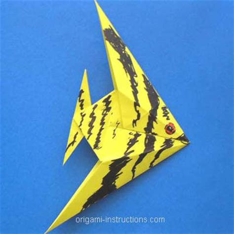 Origami The Sea - origami fish with folding the