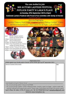 100 Original Lara Tiga Setia Gara mid autumn festivities and activities around the klang valley 2015 parenting times