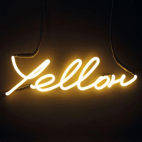 wandleuchte mit stromkabel neon shades yellow seletti wandleuchte mit stromkabel