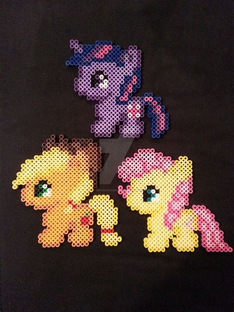 my pony perler my pony perler figures by ashmoondesigns on deviantart