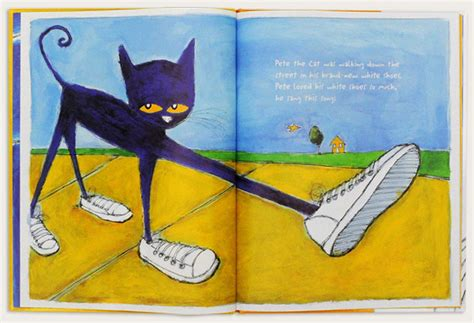 pete the cat i my white shoes kinder books