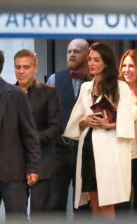 Amal clooney s bump not a baby page six