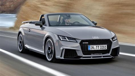2017 audi tt rs roadster automotive car news