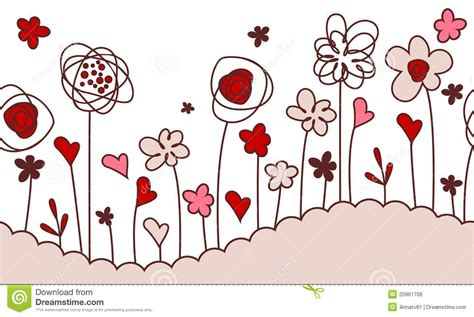 fiori clipart horizontal flowers borders clipart