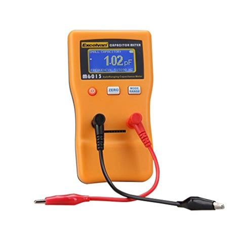 mfd10 capacitor tester supco mfd10 digital capacitor tester with led display 0 01 to 10000mf range 5 accuracy