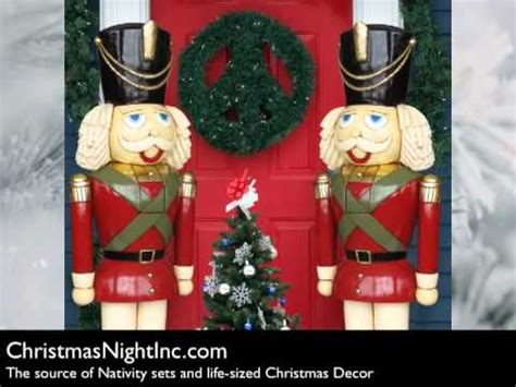 large christmas soldiers nutcrackers soldiers from inc