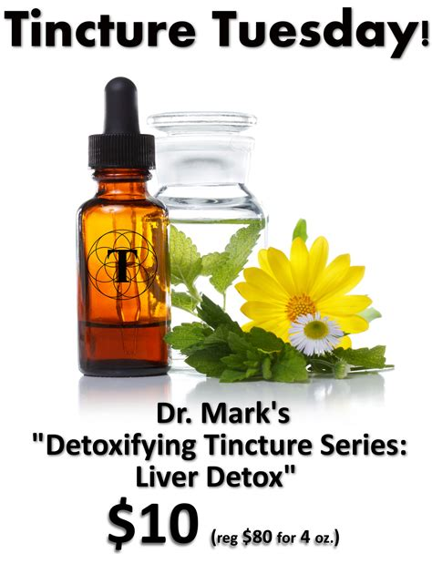 Liver Detox Tincture by Detox Tincture Series I Liver Thriveology Llc