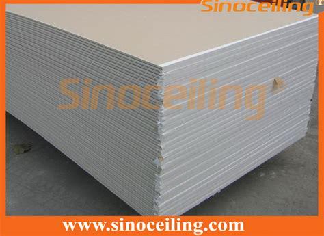 Bor Gypsum paper gypsum board drywall partition boards sinoceiling co ltd