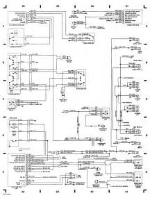 92 isuzu wiring diagram and wiring harness layout