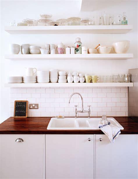 floating shelves for kitchen trend floating shelves in the kitchen la la lovely