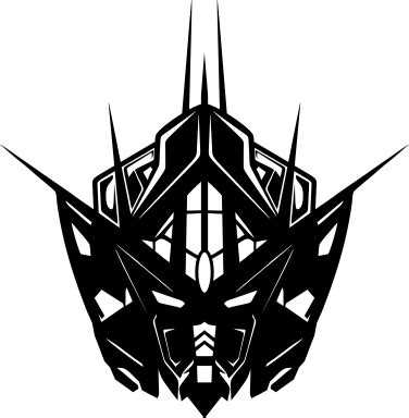 gundam stencil pictures to pin on pinterest pinsdaddy