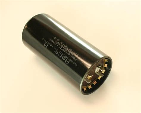 aero m motor start capacitor psa7r10708n aero m capacitor 708uf 110v application motor start 2020003004