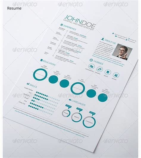 Infographic Resume Builder by 30 Best Creative Infographic Resume Templates Images On