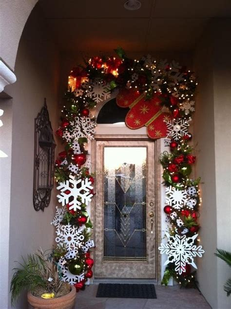 Front Door Winter Decorating Ideas by Winter Door Decor Ideas