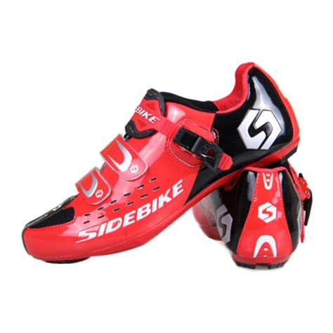triathlon bike shoes new sidebike triathlon breathable cycling shoes ultralight
