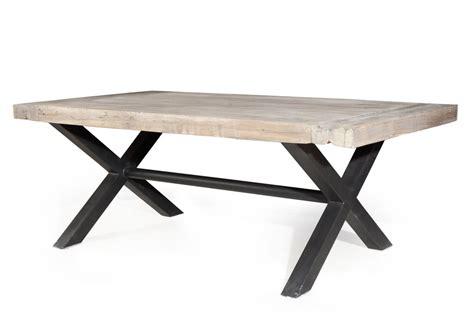 Meuble Bois Metal Industriel 2153 by Table A Manger Bois Et Metal