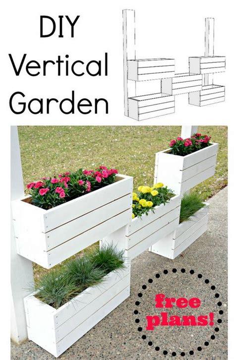 Vertical Planter Diy by 35 Awesome Vertical Garden Ideas 2017
