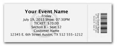 free ticket design template ticket template http webdesign14
