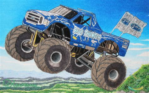 blue thunder truck pin blue thunder truck coloring pages on