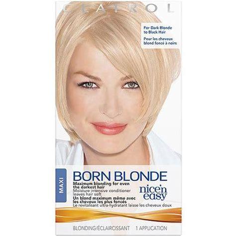 clairol nice 'n easy born blonde hair color maxi kit