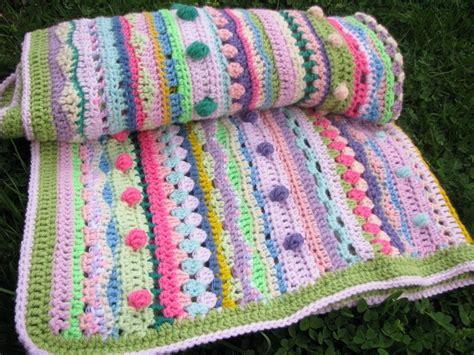 Unique Crochet Baby Blanket by Rabotilnica Na Harmonijata March 2013