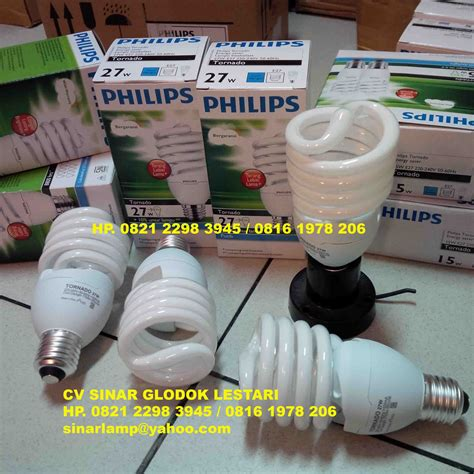 Lu Philips Tornado 80 Watt lu tornado philips 27 watt