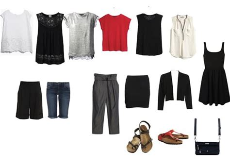 woman with short white hair capsule wardrobe ultimate packing list for women over 40 hot weather travel