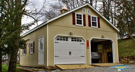 Modular Garage Massachusetts by 2 Story Prefab Garage Horizon Structures