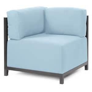 light blue slipcover corner chair slipcover in light blue walmart
