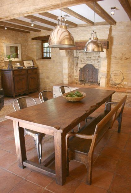 eclectic dining room tables 77 best rustic tables images on pinterest