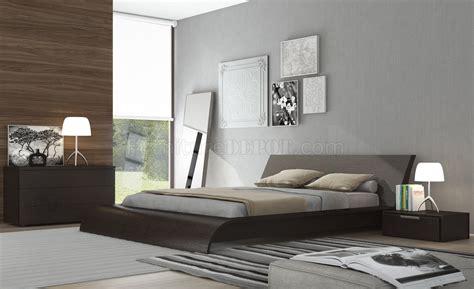 modloft platform bed md308 waverly platform bed by modloft in wenge w options