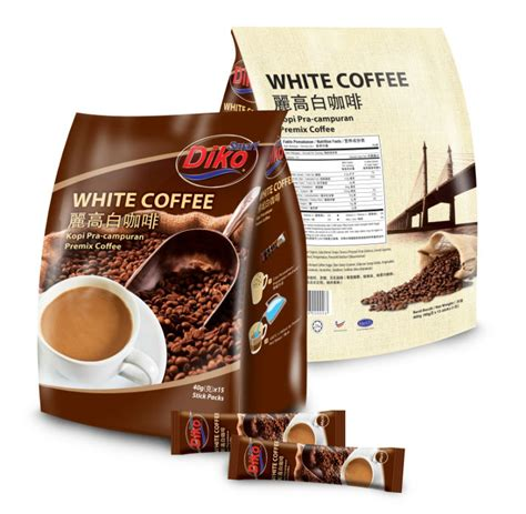 Moment Coffee Per Sachet white coffee 40gm per sachet view instant coffee sachet smart diko product details from smart