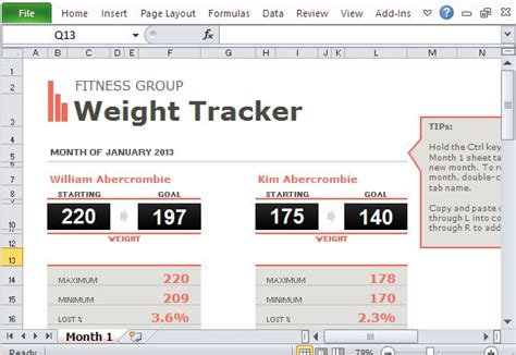 u weight loss office search results for weight loss tracker template