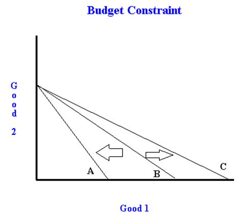 budget constraint and welfare/tax breaks
