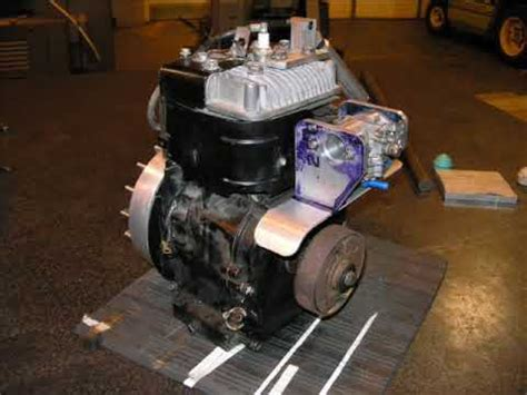 hot rod supercharged briggs and stratton 5hp youtube