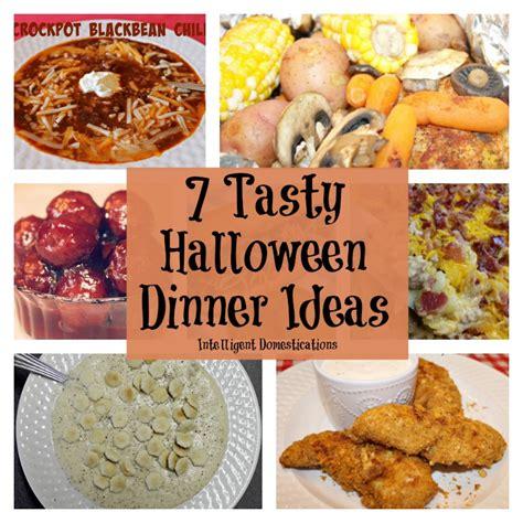 7 tasty halloween dinner ideas