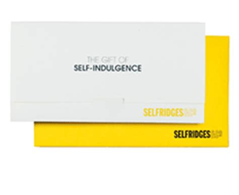 Selfridges Gift Card - selfridges official gift card store