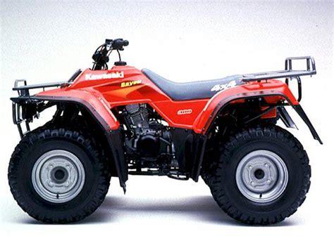 300 Kawasaki Bayou by Kawasaki Bayou 300 Atv Car Interior Design