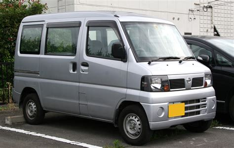 nissan clipper file nissan clipper van jpg wikimedia commons