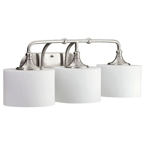 Quorum Bathroom Lighting Quorum Lighting Rockwood Satin Nickel Bathroom Light 5090 3 65 Destination Lighting