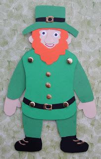 18 Eye Dzi Skin of crafts leaping leprechaun craft