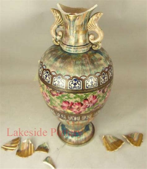 Vase Repair by Broken Pottery China And Ceramic Pictures Before And After
