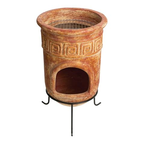 chiminea bunnings chapala large inca bbq chimenea i n 3170335 bunnings