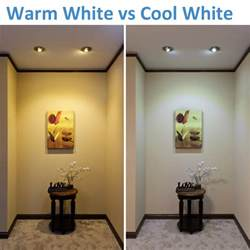 warm white vs cool white led lighting